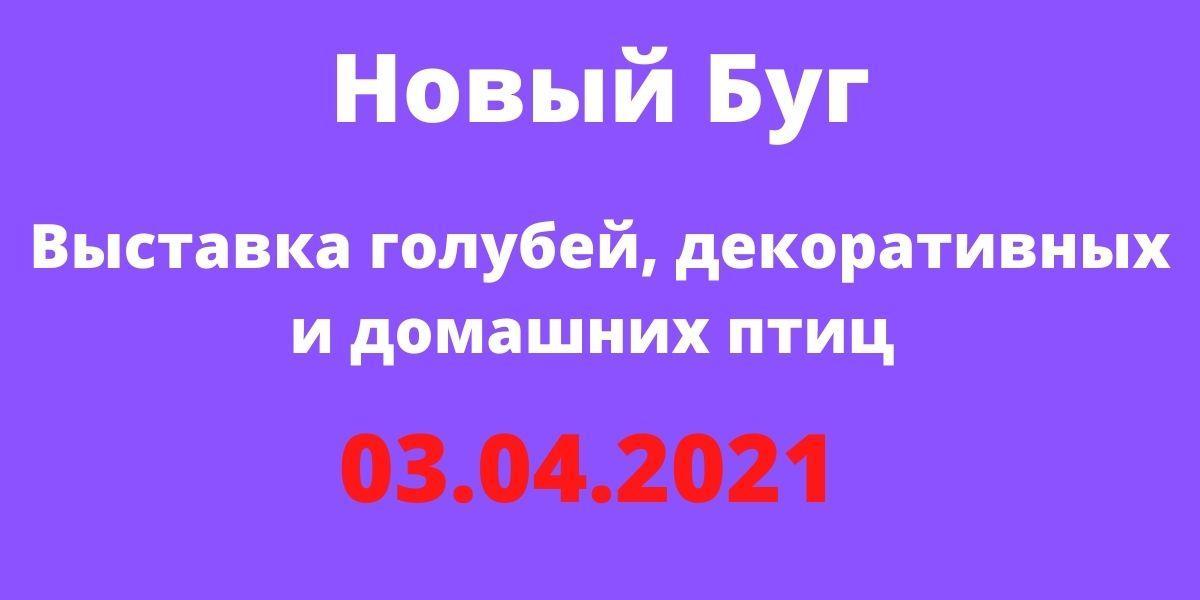 03.04.2021 Новый Буг