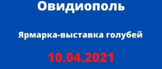 10.04.2021 Овидиополь
