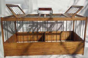 Клетка для транспортировки голубей и д.р.птиц